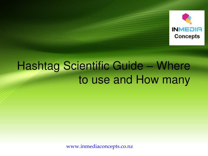hashtag scientific guide where to use and how many n.