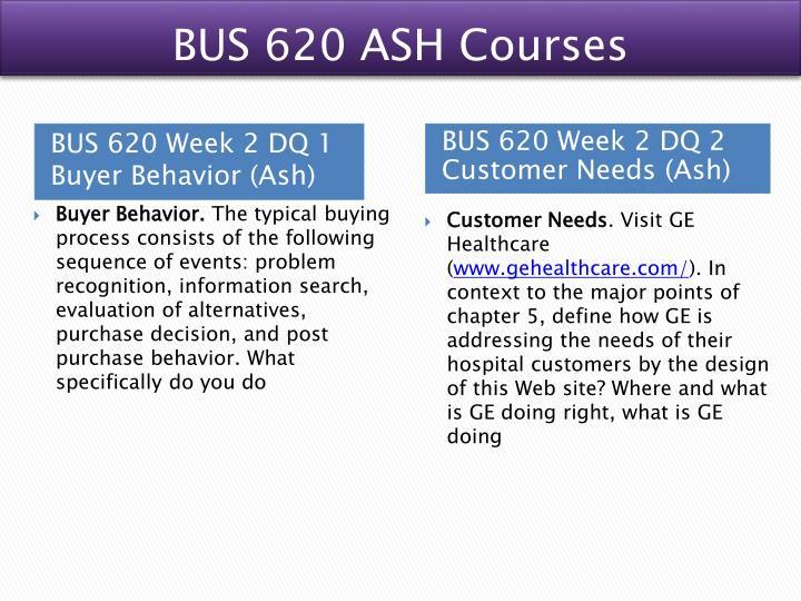 bus620 week 5