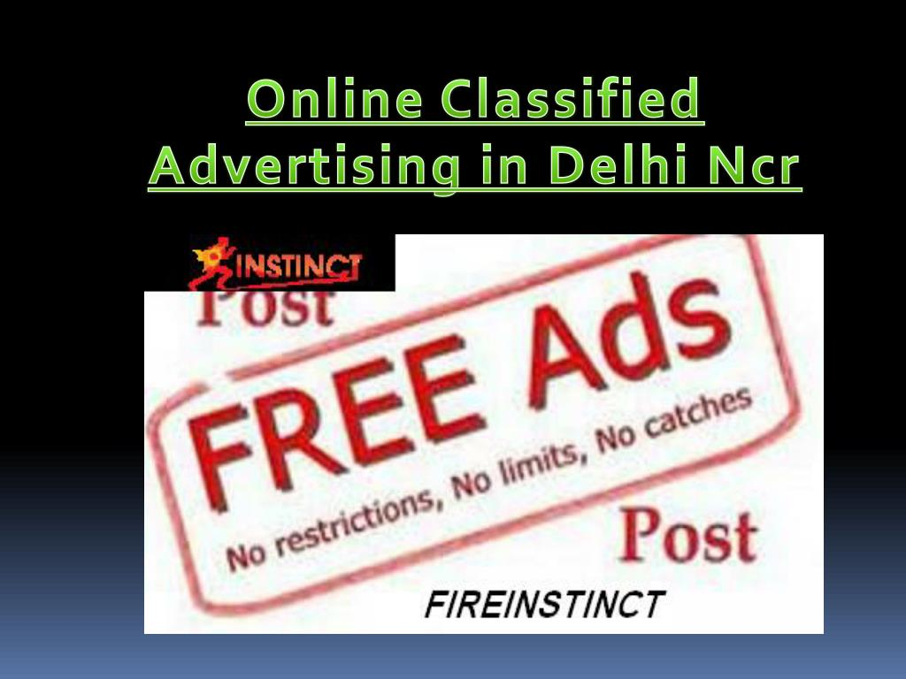 PPT - Online Classified Advertising in Delhi Ncr PowerPoint
