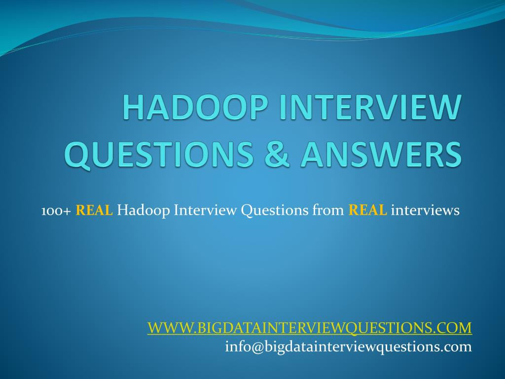 real interview questions and answers