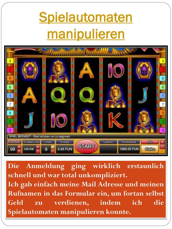 Casino Manipulieren
