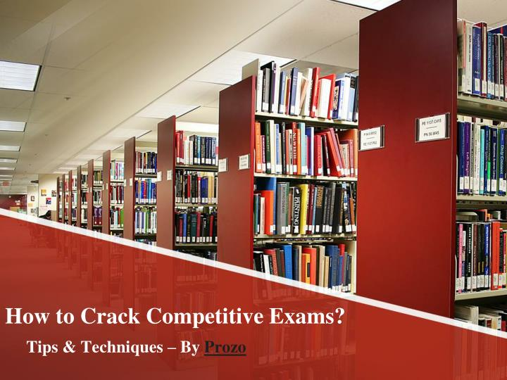 how to crack competitive exams n.