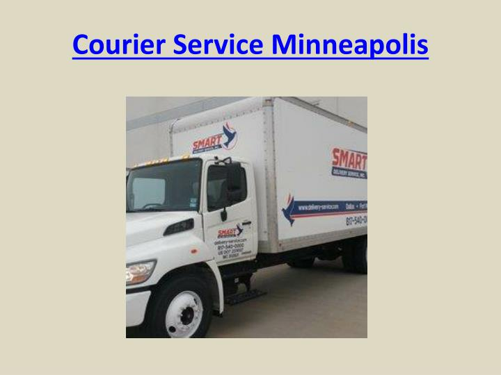 Courier Service Minneapolis