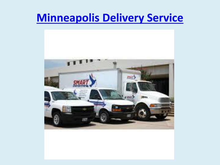 Minneapolis delivery service