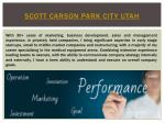 scott carson park city utah