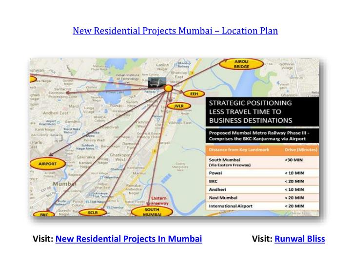 New Residential Projects Mumbai – Location Plan