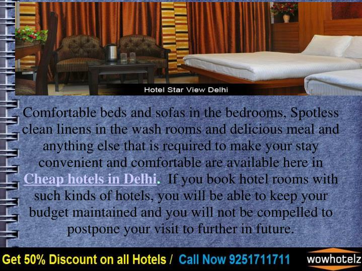 Comfortable beds and sofas in the bedrooms, Spotless clean linens in the wash rooms and delicious meal and anything else that is required to make your stay convenient and comfortable are available here in
