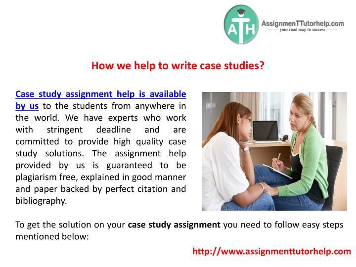 How we help to write case studies?