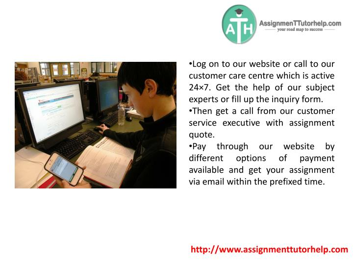 Log on to our website or call to our customer care centre which is active 24×7. Get the help of our subject experts or fill up the inquiry form.