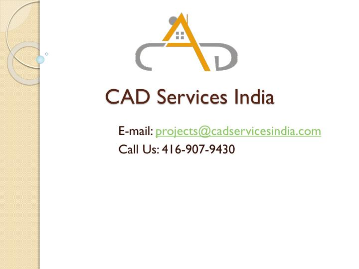 cad services india n.