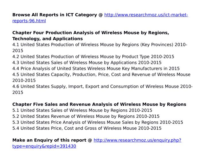 Browse All Reports in ICT Category @