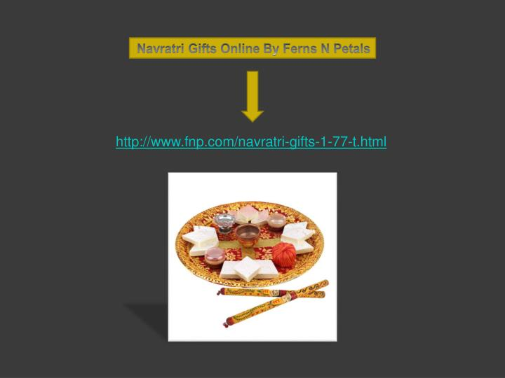 Navratri Gifts Online By Ferns N Petals