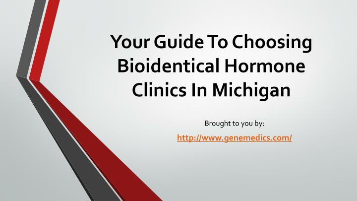 your guide to choosing bioidentical hormone clinics in michigan n.