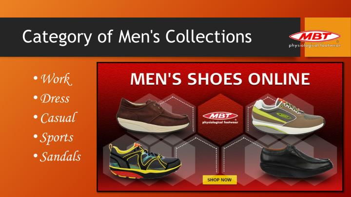 Category of men s collections