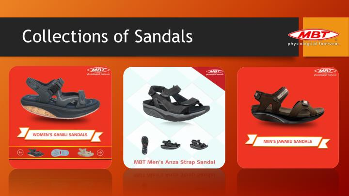 Collections of Sandals