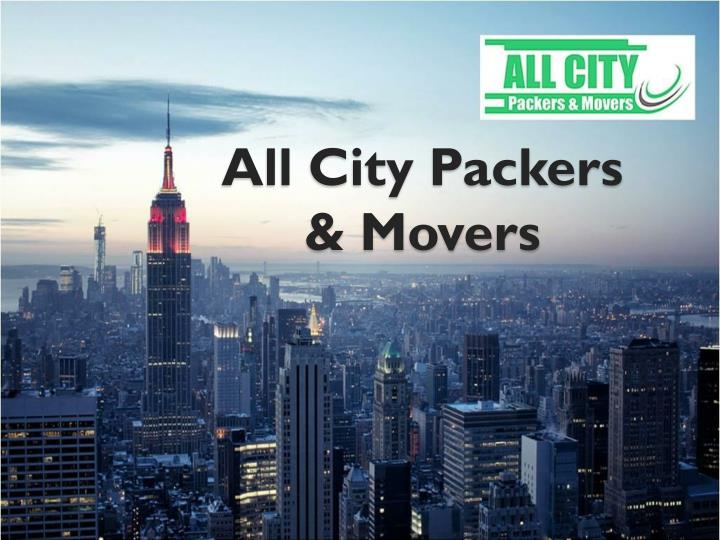 all city packers movers n.