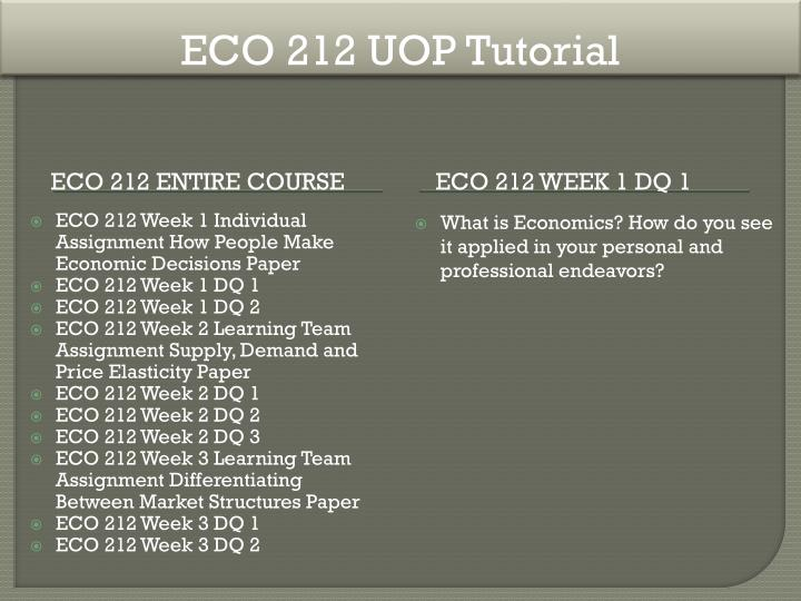 how people make economic decisions eco A+ tutorial for eco 212 week 1 individual how people make economic decisions with references use this paper as a reference to help you write a great.