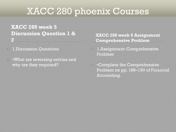 xacc 280 financial statement analysis Xacc 280 week 9 final project financial analysis click following link to purchase xacc 280 week 6 exercise financial statements uop.