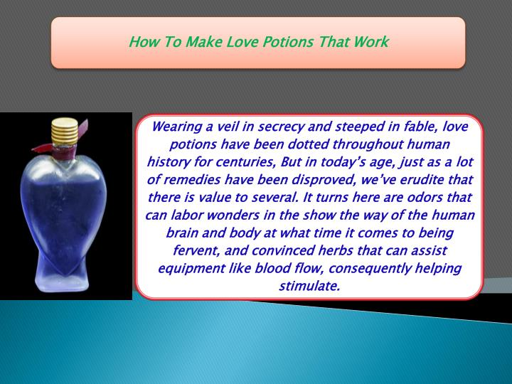 How to make love potions that work 91 9799848845