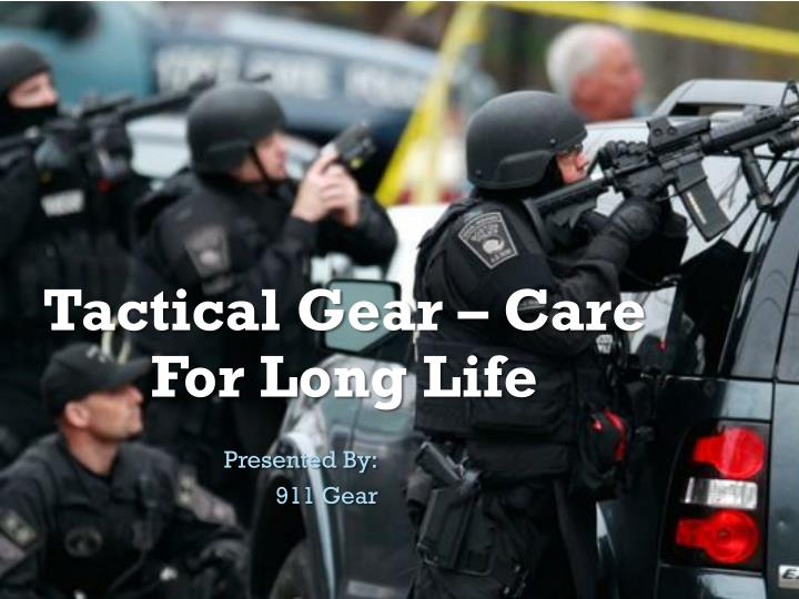 tactical gear care for long life n.