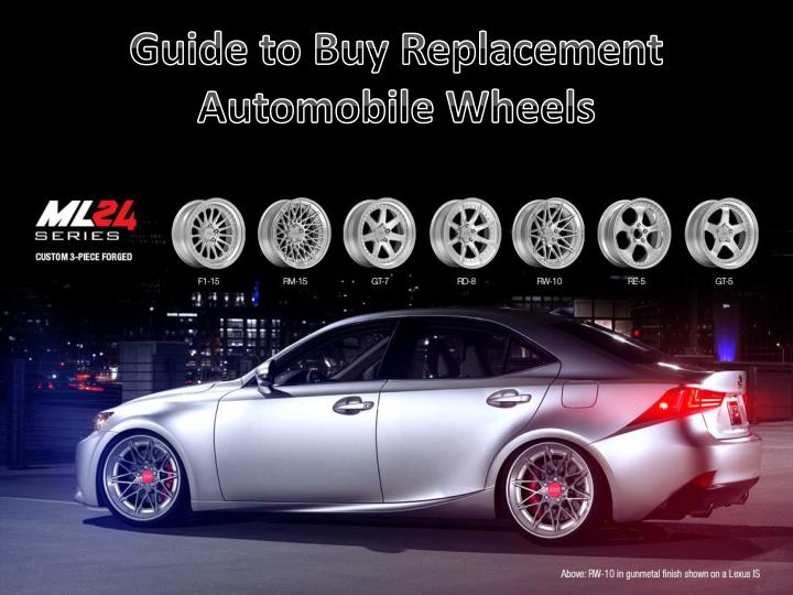 guide to buy replacement automobile wheels n.