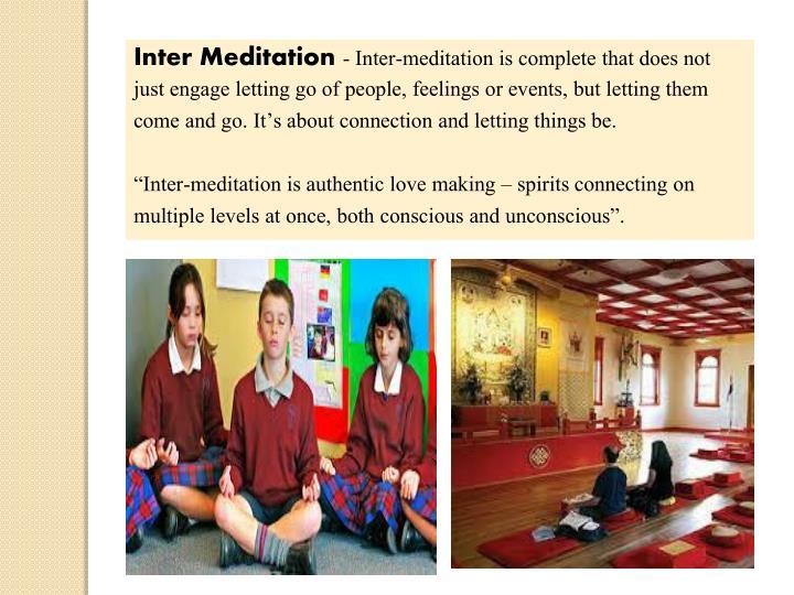 Inter Meditation