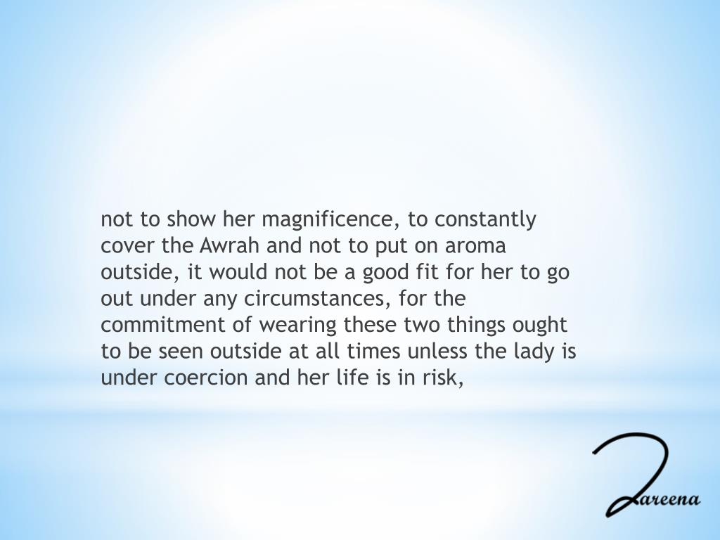 PPT - How to Wear Hijab (Abaya) Properly PowerPoint