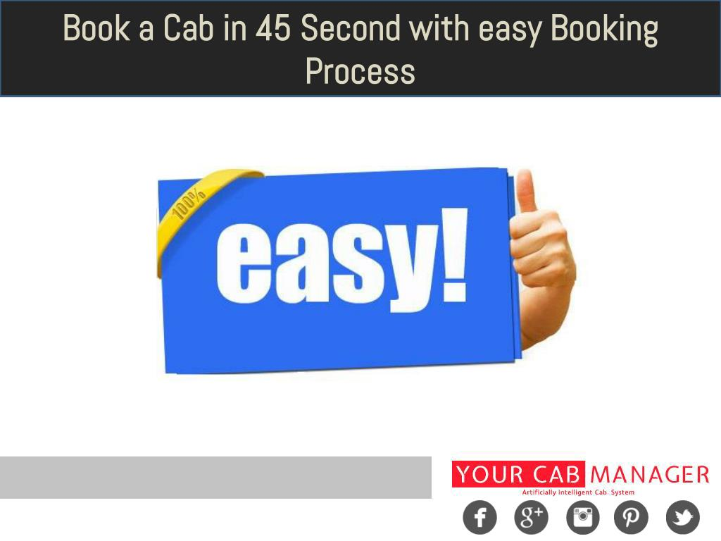 PPT - Benefits of Cab or Taxi Booking Software PowerPoint