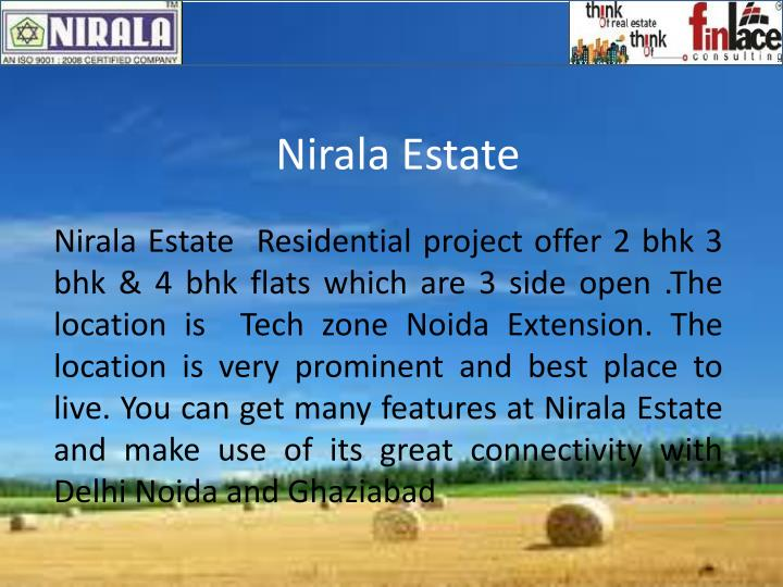 nirala estate n.