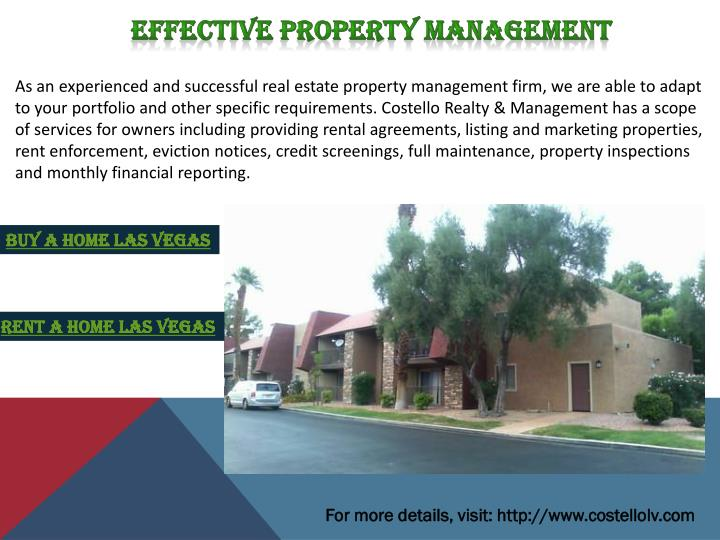 Effective Property Management