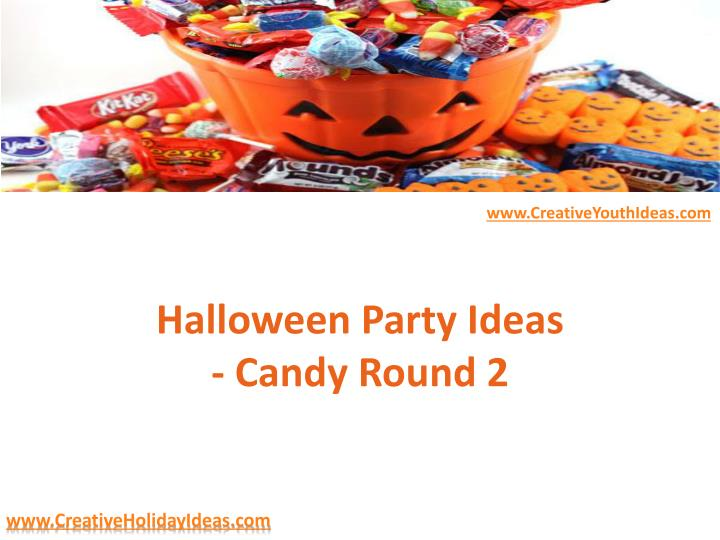 halloween party ideas candy round 2 n.