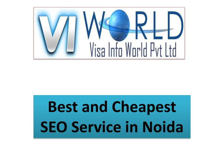 best and cheapest seo service in noida n.
