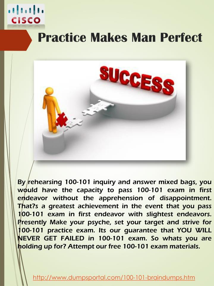 Practice Makes Man Perfect