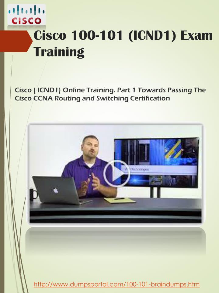 Cisco 100-101 (ICND1) Exam