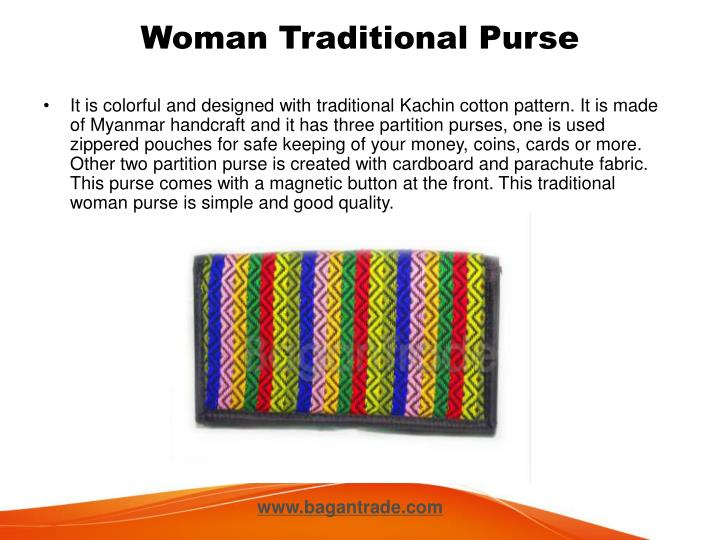 Woman traditional purse