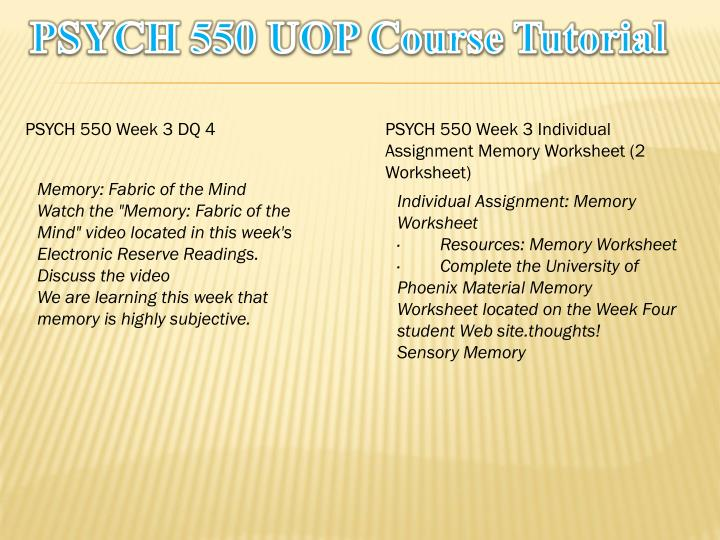 psych 550 Curriculum and courses a general psychology psych 101 – introduction to psychology 3 cr u psych 550 – history of psychology 3 cr u/g.