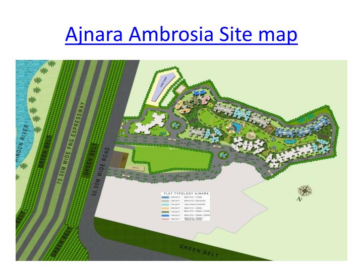 Ajnara ambrosia site map