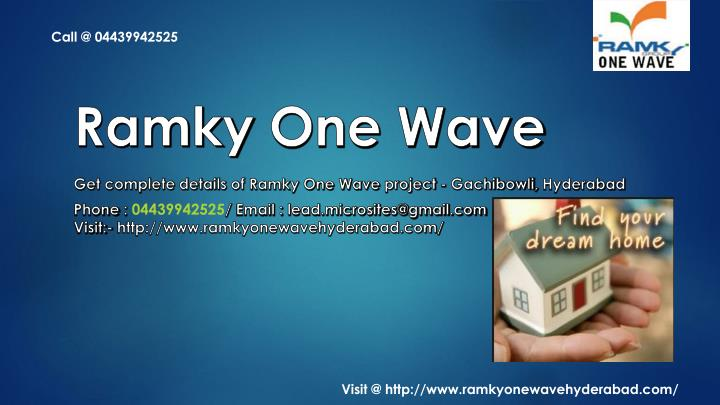 ramky one wave n.