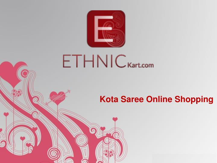 Kota Saree Online Shopping