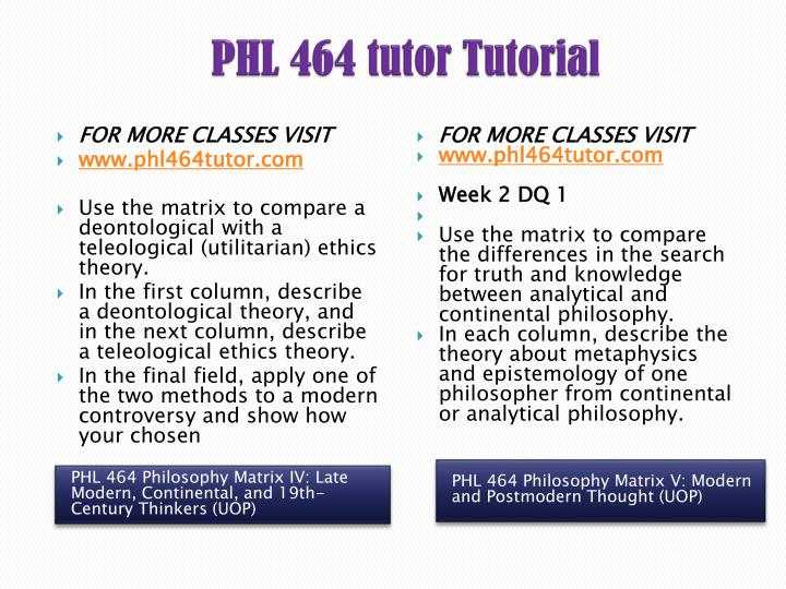 epistemology philosophy matrix