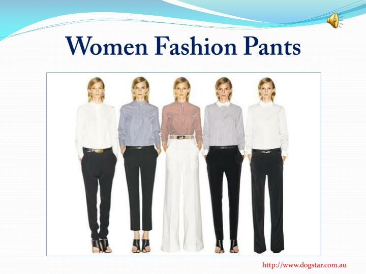 women fashion pants n.