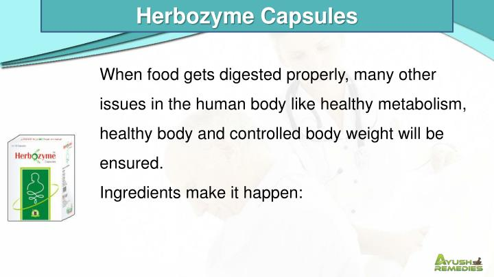 Herbozyme Capsules