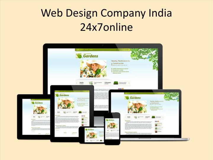 web design company india 24x7online n.