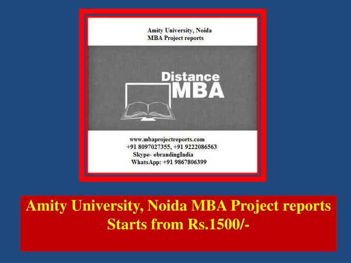 amity university noida mba project reports starts from rs 1500 n.