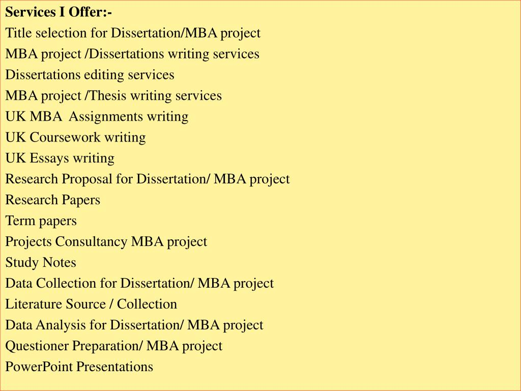 Cheap papers editing services for mba student loan company thesis servicing