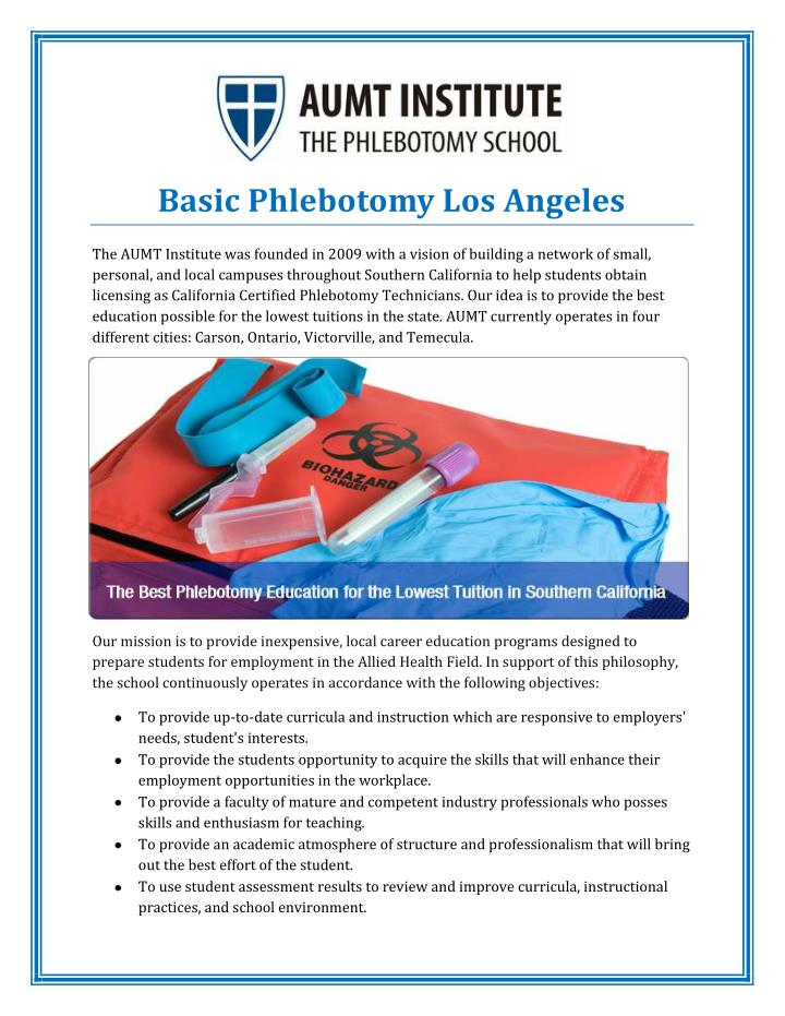 Ppt Basic Phlebotomy Los Angeles Powerpoint Presentation Id7225616