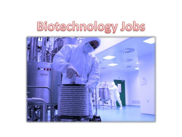 Biotechnology jobs in pune