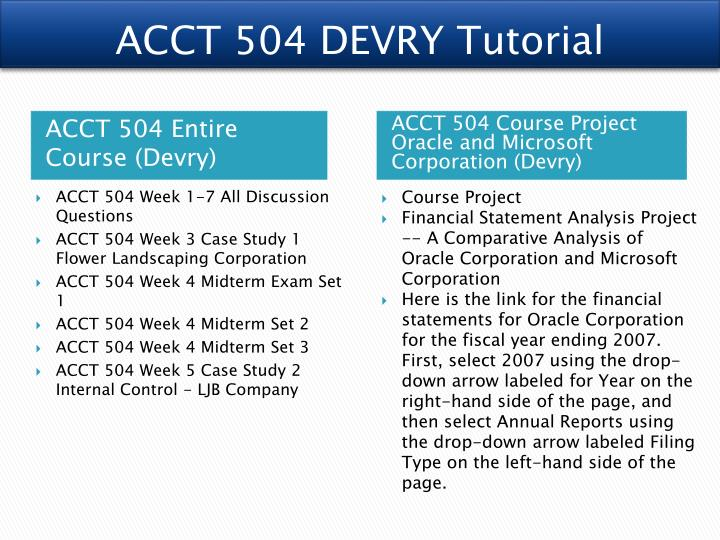 devry university acct 429 Easily share your publications and get them in front of issuu's millions of monthly readers acct 429 all discussion questions devry university acct 429.