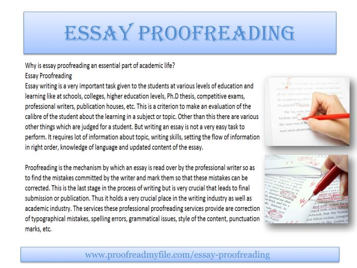 essay proofreading rates