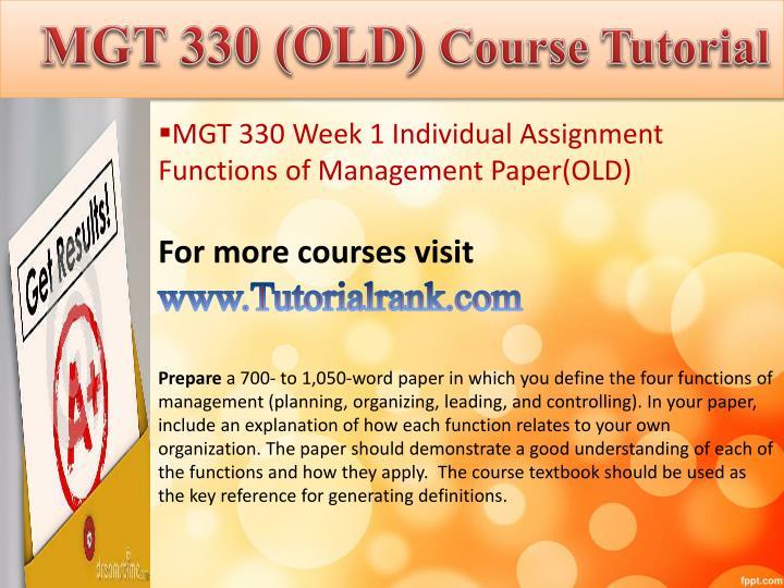 week 5 dq 1 mgt 311